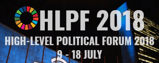 High-level Political Forum on Sustainable Development 2018, 9 - 18 July