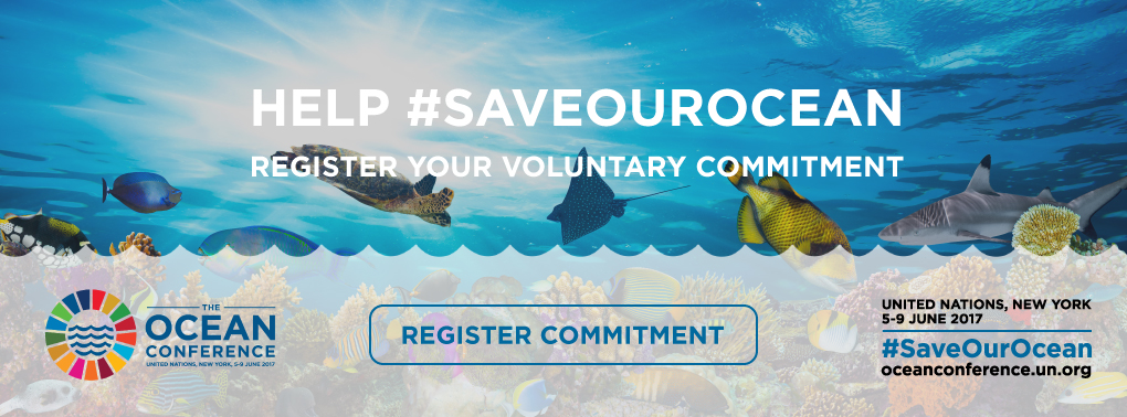 Help #saveourocean. Register your voluntary commitment.