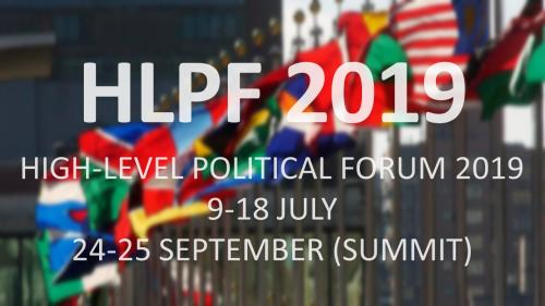 High-Level Political Forum 2019 (HLPF 2019)  :  Sustainable