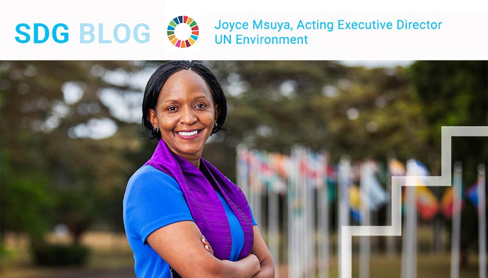 Acting Executive Director, UN Environment Programme Joyce Msuya