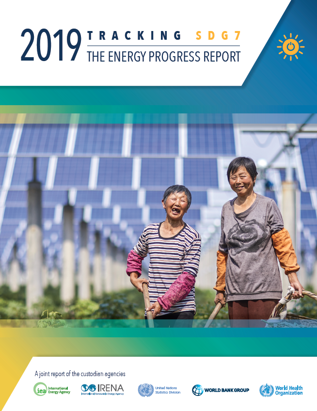 Tracking energy progress report cover