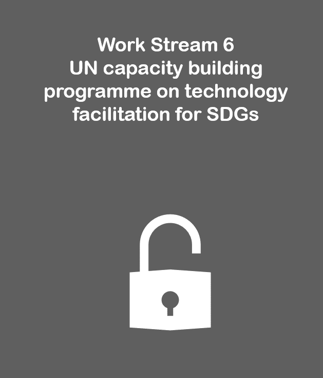 Work Stream 6: UN capacity building programme on technology facilitation for SDGs