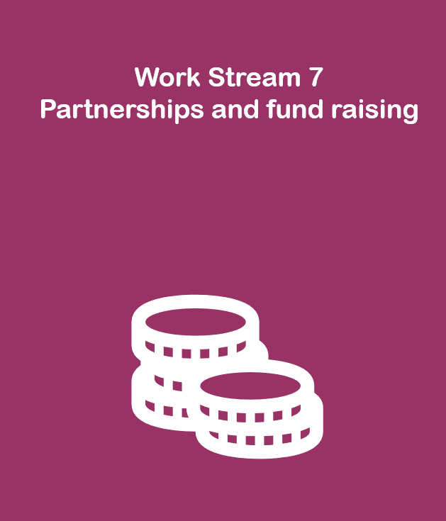 Work Stream 7: Partnerships and fund raising