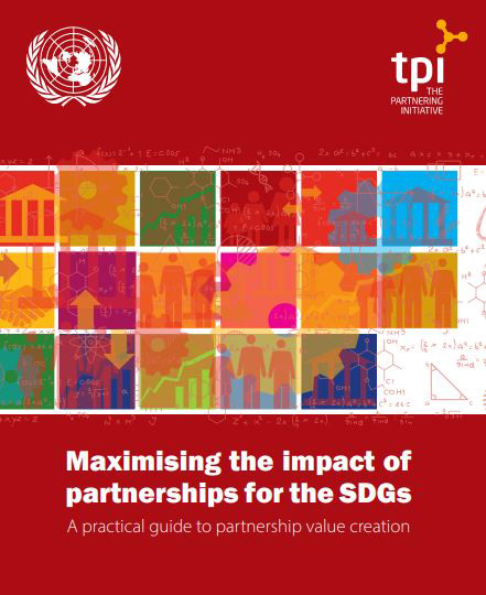 Maximizing the impact of partnerships for the SDGs cover